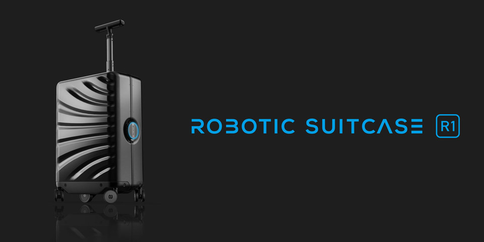 Cowarobit R1 Robotic Suitcase
