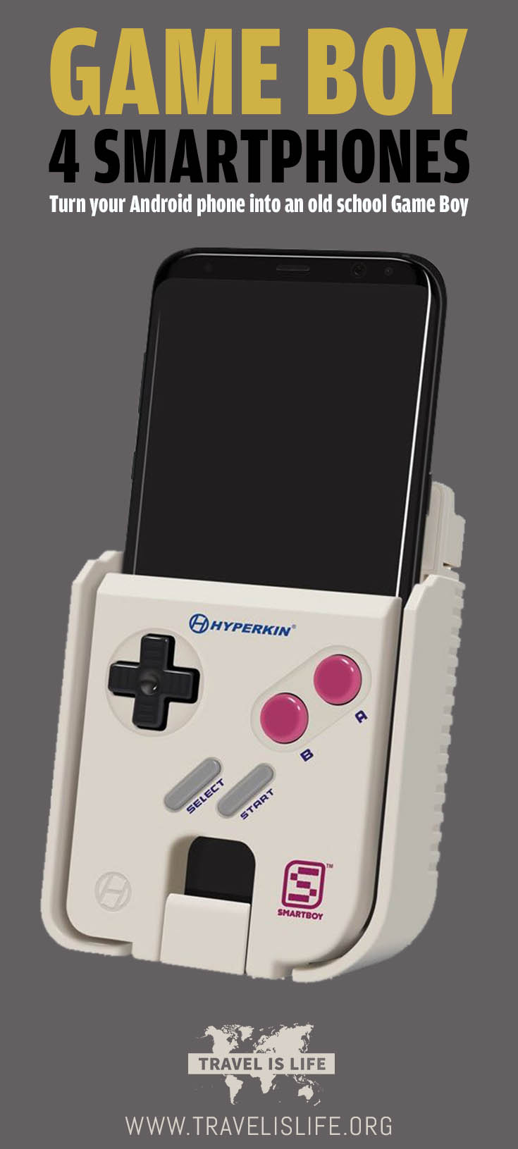 Turn your Android Smartphone into an old school Game Boy