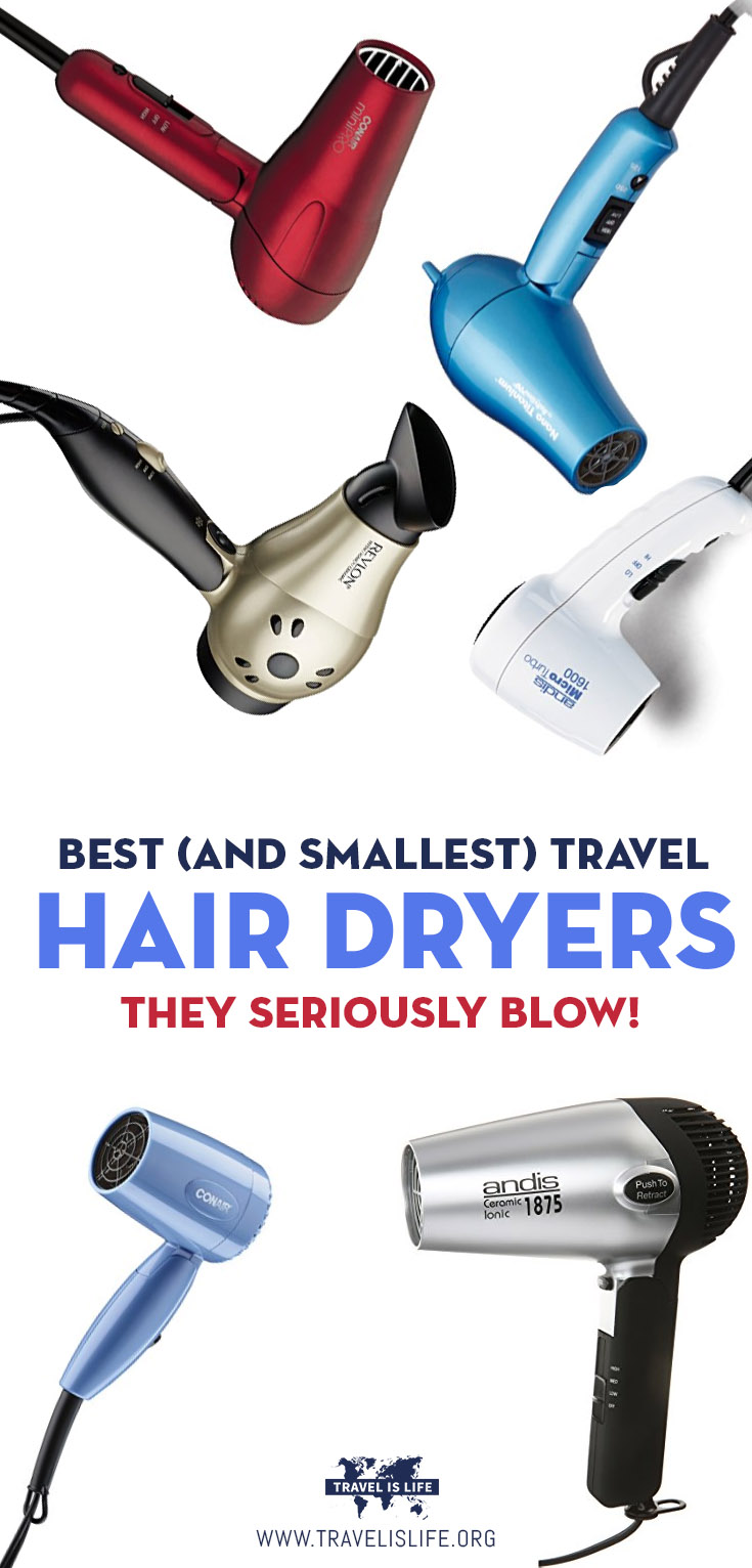 Best And Smallest Travel Hair Dryers
