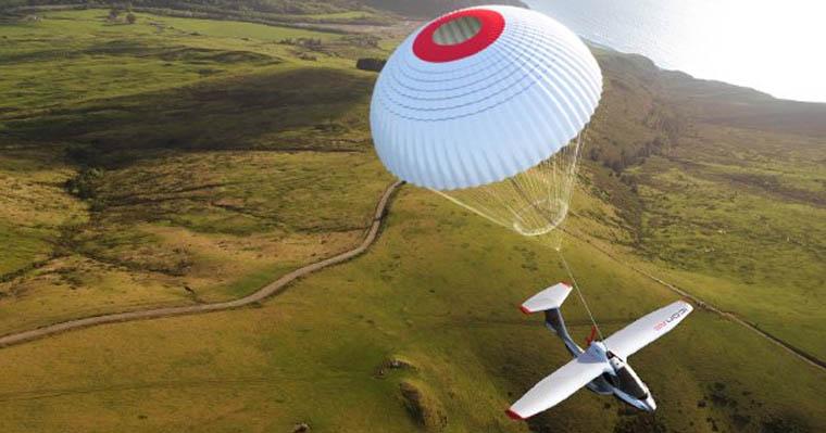 ICON A5 Sports Plane Parachute