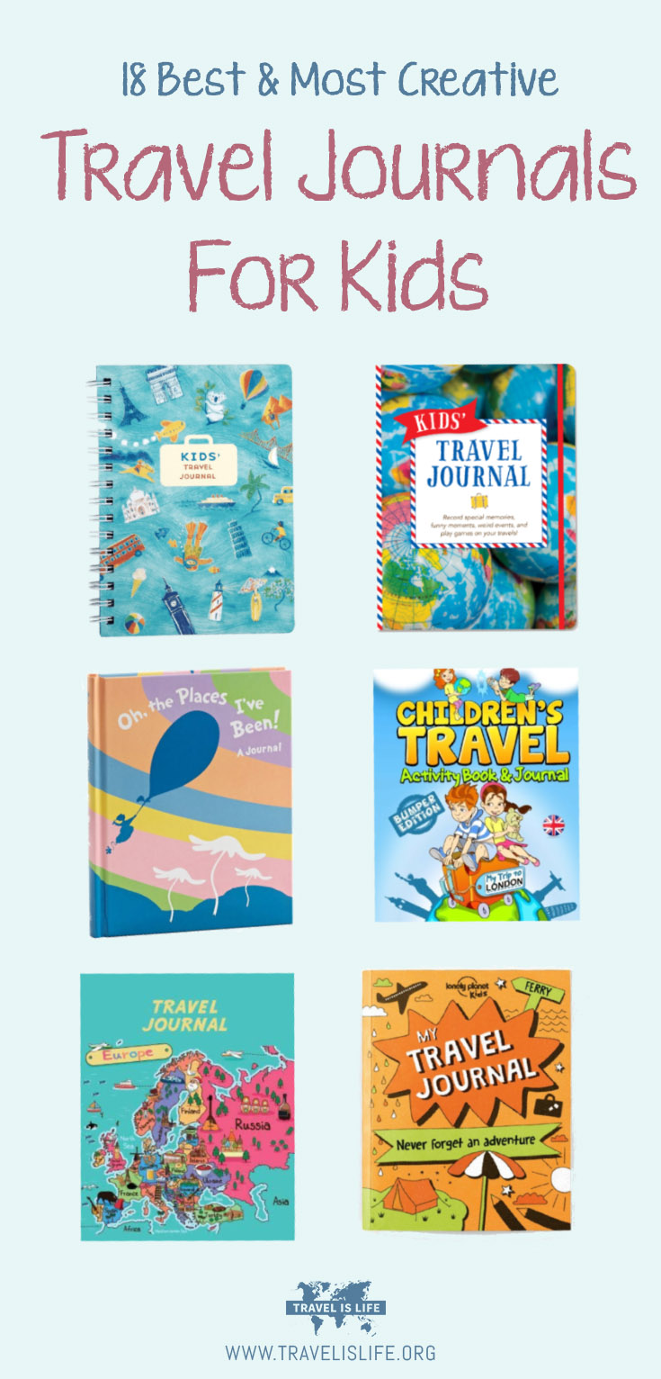 Best Kid Travel Journals