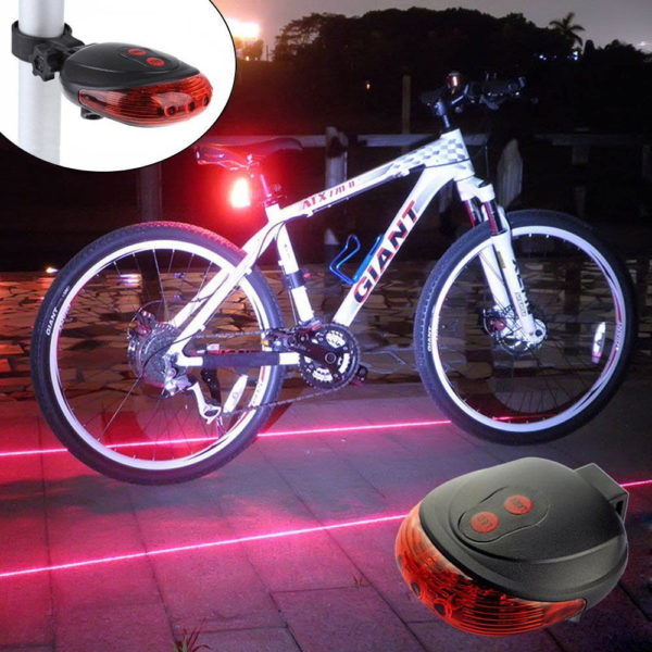 Laser Bike Lane and LED Rear Light