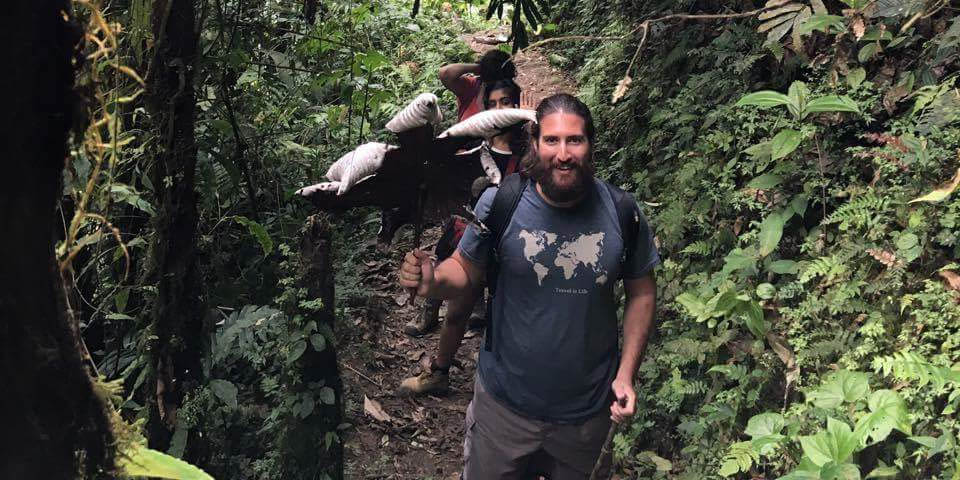 Hiking to five different waterfalls in Mindo Ecuador