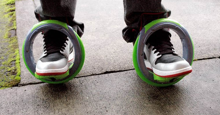 Orbit Wheels - Futuristic Roller Skates