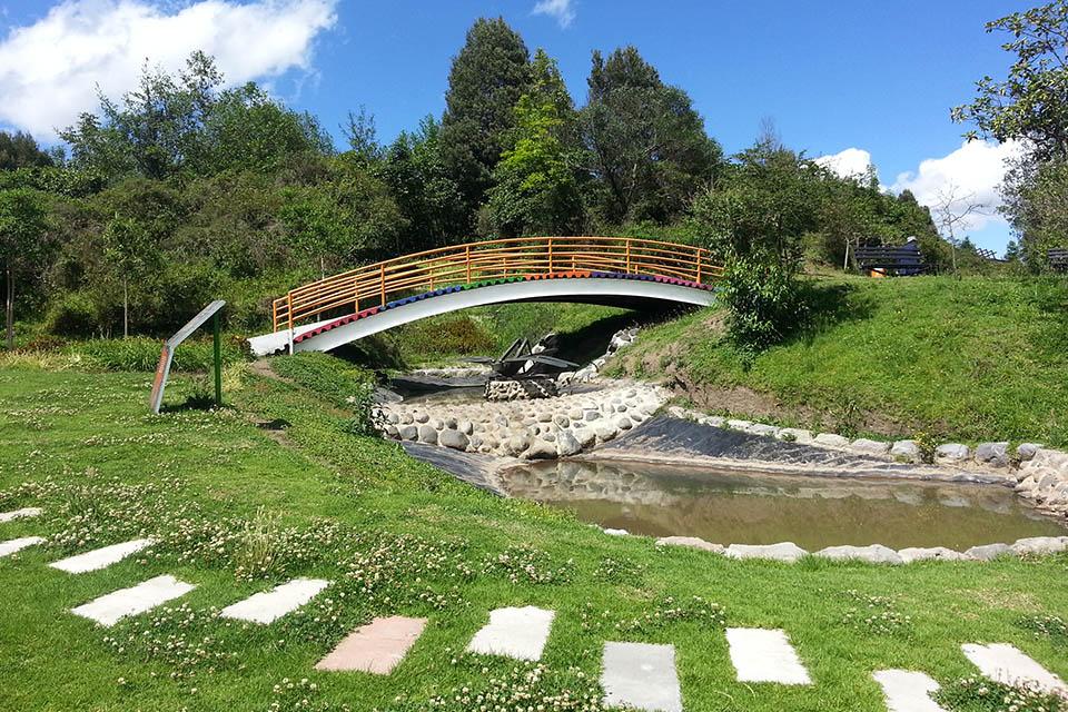 Parque Itchimbia in Quito Ecuador