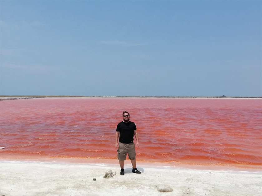 Paul At The Pink Sea Colombia