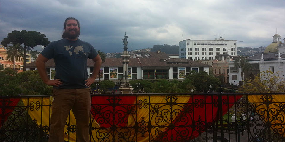 Tour of the Presidents House in Quito Ecuador