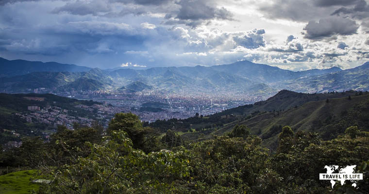 Spring Weather Year Round in Medellin Colombia