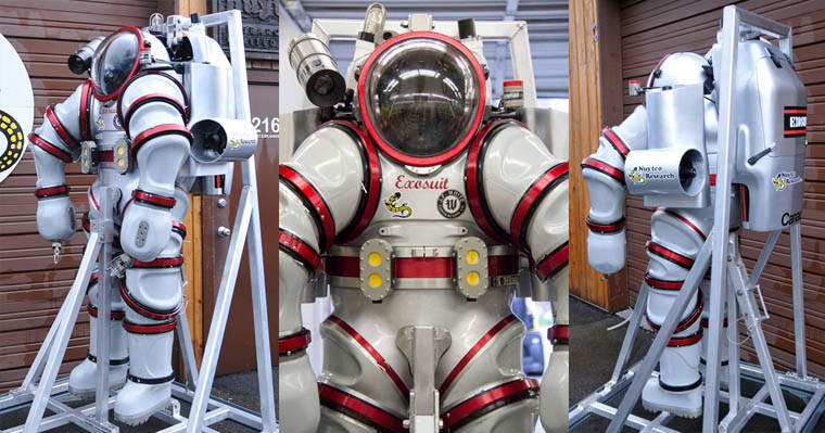 The Exosuit Underwater Exploration Suit